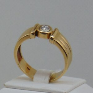 HGY/014 14k 7,3 gr Brill 0,20ct M,Tcr.VS